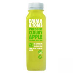 3 x 100% Pressed Cloudy Apple Fresh Juice Bottles