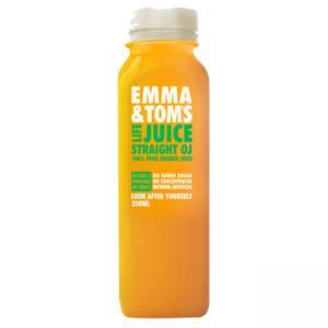 3 x 100% Valencia Fresh Orange Juice Bottles