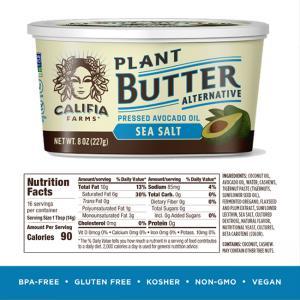 Vegan Butter Sea Salt Avocado Oil