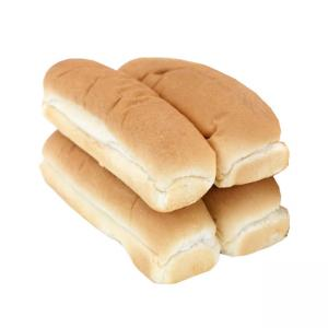 4 x Hot Dog Bun/Pão de Hot Dog
