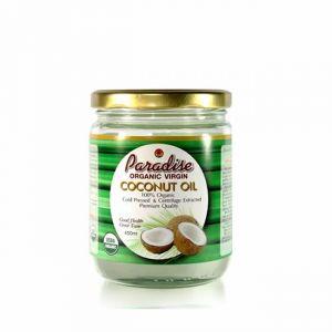 100% Organic Cold Pressed Coconut Oil