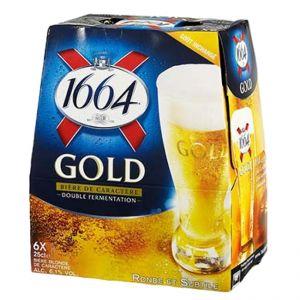 6 x 1664 Beer Gold
