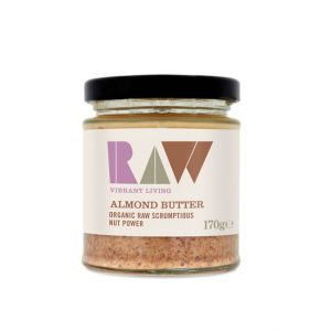 Raw Organic Whole Almond Butter