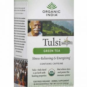 Tulsi Green Tea Box