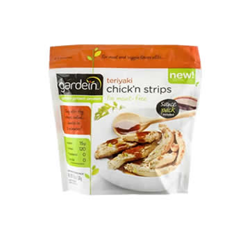 Vegan Teriyaki Chick'n strips