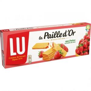 Strawberry Waffle Biscuits La Paille D'Or