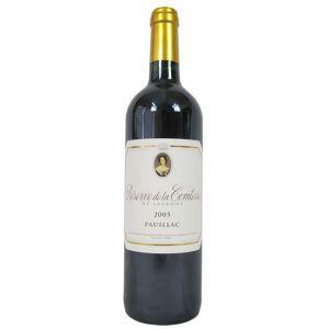Reserve de la Comtesse 2005 (Deuxièmes Crus) Bordeaux Red Wine