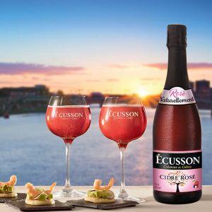 Ecusson Cidre Rose Cider