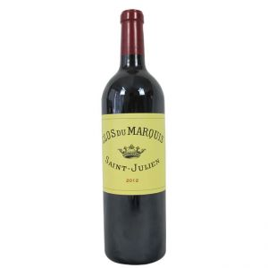 Clos du Marquis 2012 (Deuxièmes Crus) Red Wine
