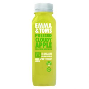100% Pressed Cloudy Apple Fresh Juice
