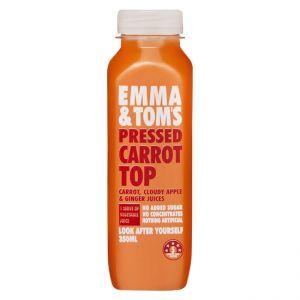 Pressed Carrot Top Fresh Juice