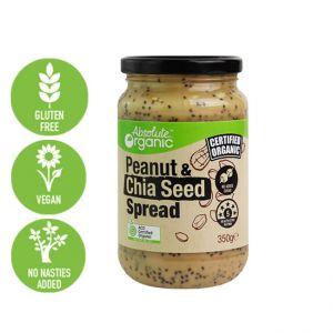 Organic Peanut & Chia Seed Spread