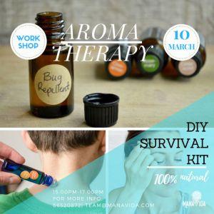 Aromatherapy – Survival Kit February Workshop