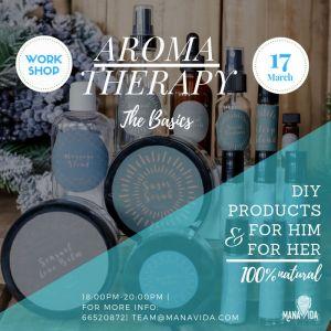 Aromatherapy – The Basics March Workshop