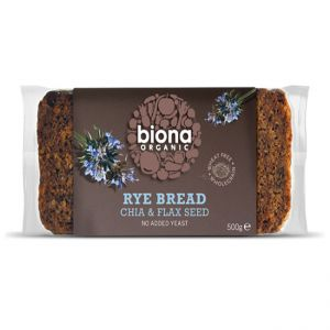 Rye Chia & Flax Bread