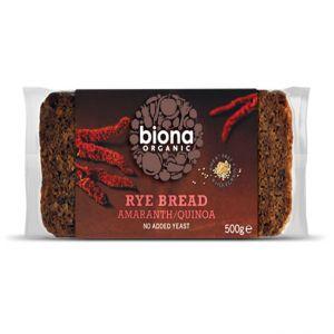 Rye Amaranth & Quinoa Bread