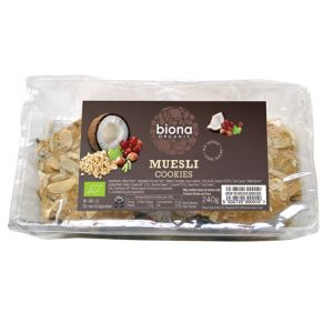 Organic Muesli Cookies