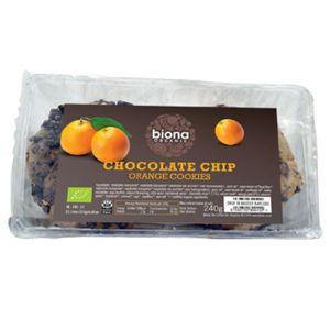 Organic Chocolate chip & Orange Cookies
