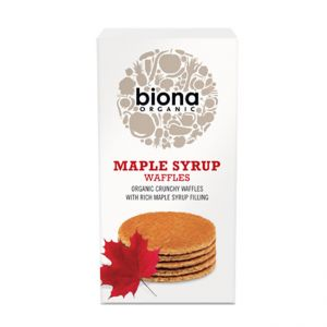 Organic Maple Syrup Waffles