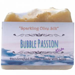 Sparkling Olive Silk Handmade Bar Soap