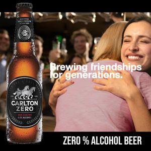 Carlton Zero Alcohol Beer