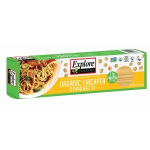 Chickpeas Spaghetti