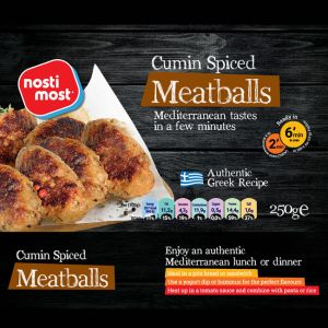 Grilled Cumin spiced Meatballs