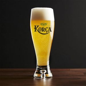 Birra Korca Clear Glass