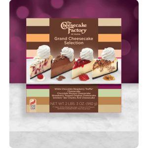 "6"" Grand Cheesecake Selection"