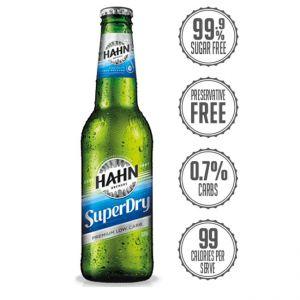Hahn Super Dry Beer