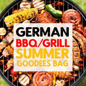 German BBQ/Grill Meat Goodees Bag