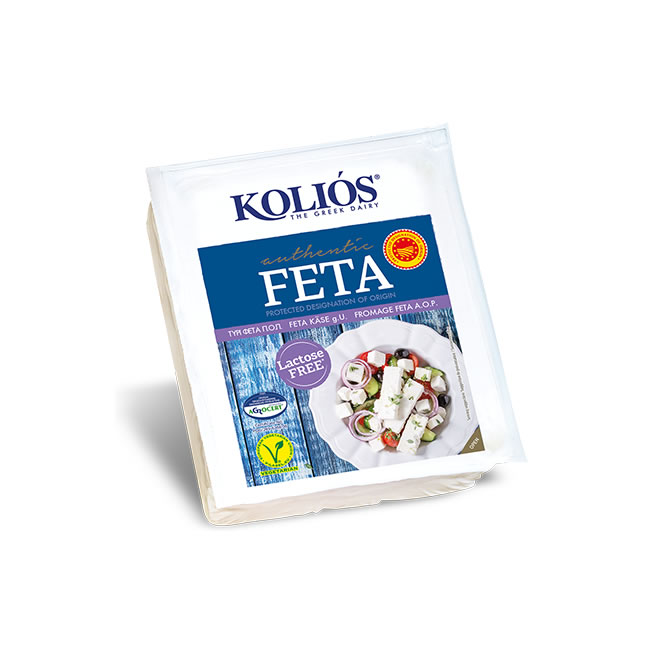 Lactose Free Greek FETA Cheese P.D.O (B1G1)