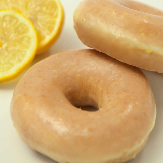 4 x Lemon Glazed Donut