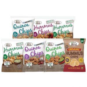 Mixed Hummus & Quinoa Chips