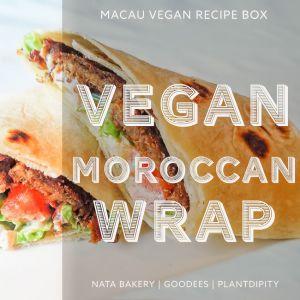 Vegan Moroccan Wrap