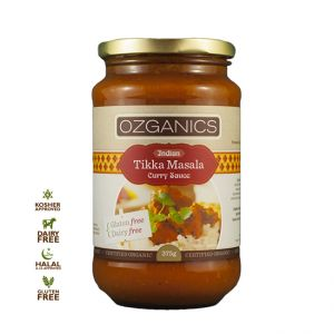 Ozganics Butter Chicken is a creamy, smooth, mildly seasoned curry sauce - Goodees Macau - Organic