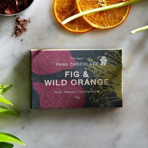 Raw Organic Pana Chocolate with Fig & Wild Orange