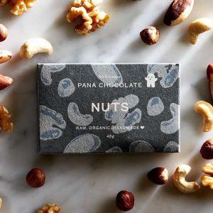 Raw Organic Pana Chocolate With Nuts