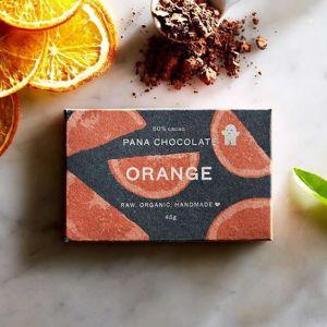 Raw Organic Pana Chocolate with Orange