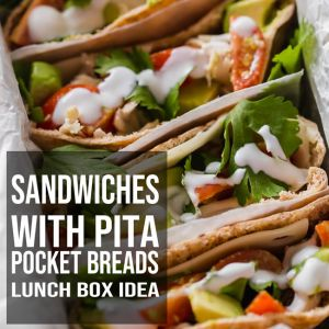 Sandwiches with Pita Pocket Breads