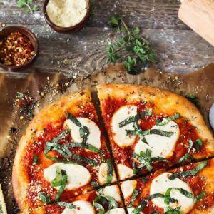 Vegetarian Pizza Menu