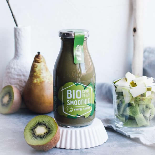 Organic Energy Kiwi Pear Smoothie