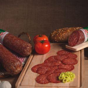 Sliced Crudo Hungarian Salami