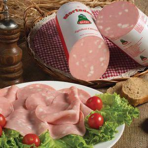 Sliced Premium Mortadella Large Sausage
