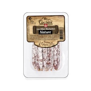 Cured French Long Dried Pork Sausage -Mini Buchettes