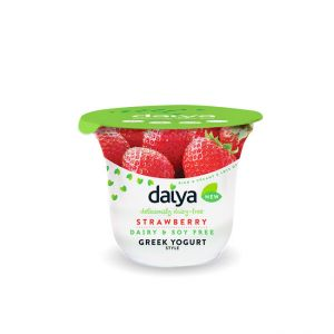 Vegan Strawberry Yogurt