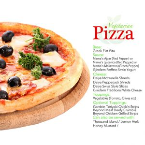 Vegetarian Pizza Kit