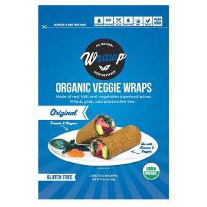 Original Organic Veggie  Wraps Flatbread